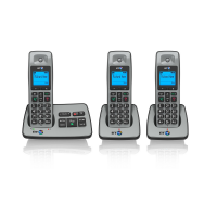 BT 2500 Trio Digital Cordless With Answer Machine